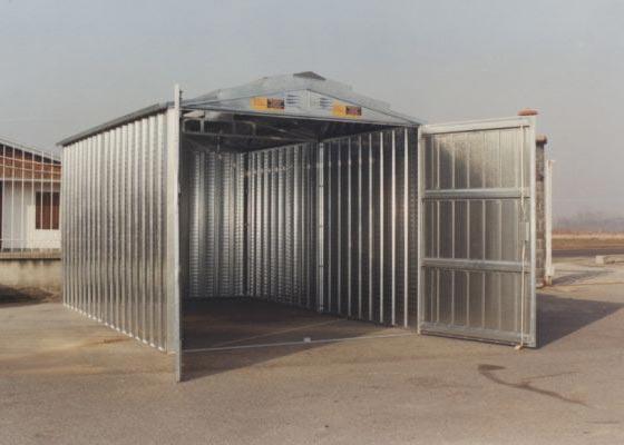 Box in lamiera per auto for Box garage lamiera
