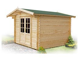 Casette giardino legno 350 x 250 for Elevata progettazione di casette