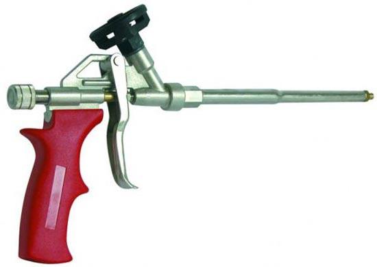 Pistola per schiuma poliuretanica for Pistola a spruzzo elettrica professionale