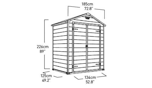 Box In Plastica Per Giardino.Box Giardino Plastica