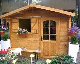 Casette giardino for Leroy merlin gazebo giardino in legno