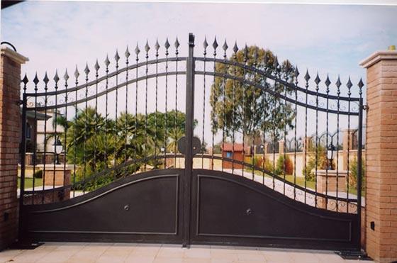 Cancelli di recinzione for Staccionata dwg